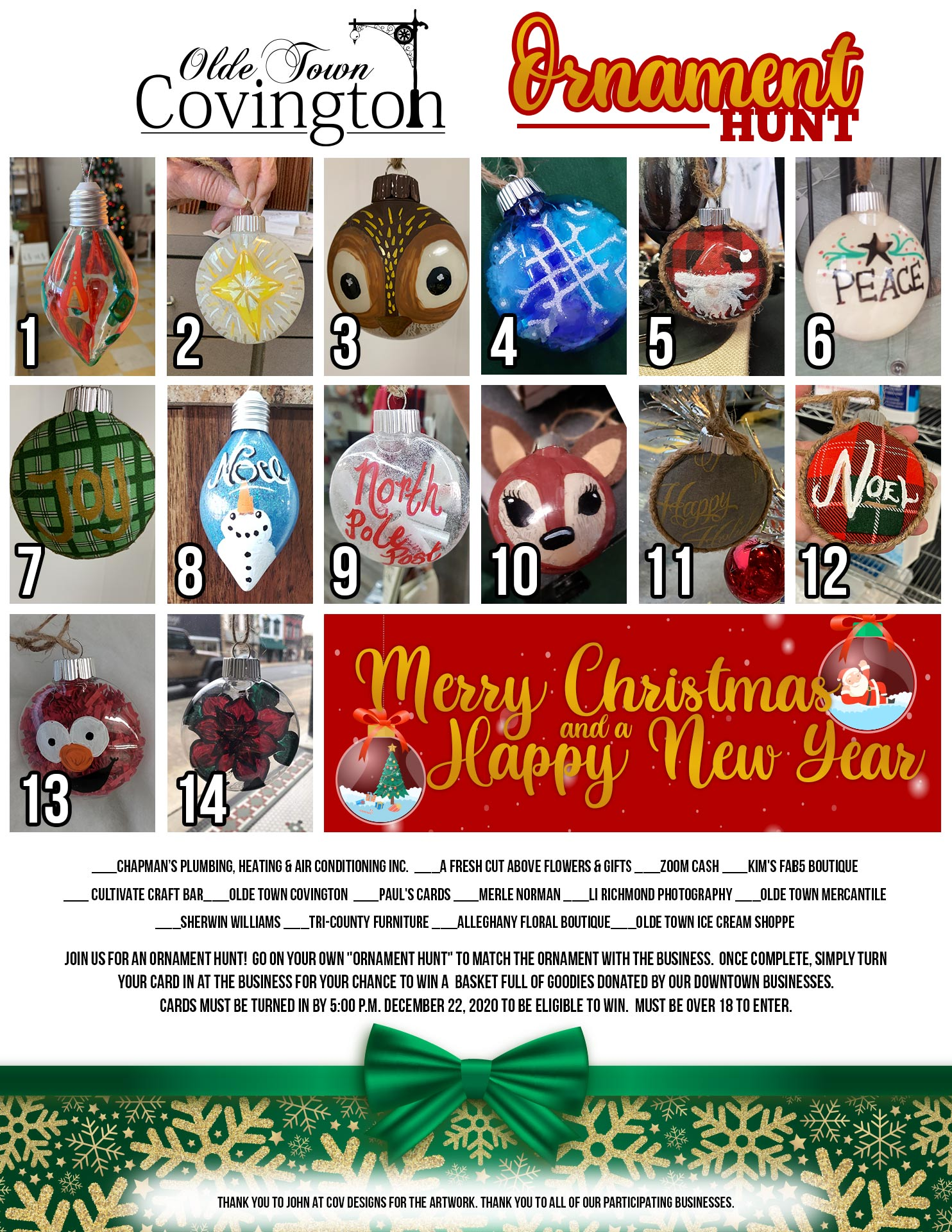 Ornaments 2020 SM